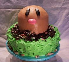 Diglett cake...where is the rest of Diglett?!