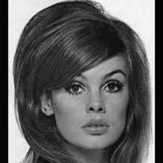 Jean Shrimpton's 60s hair