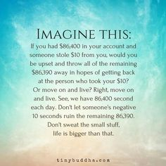Imagine this. Life is bigger than ....❤☀