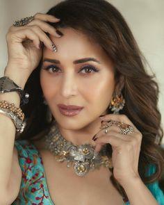Diamond Earrings, Hoop Earrings, Deepak Chopra, Madhuri Dixit, Bollywood Stars, Dance Videos, Timeless Beauty, Crochet Earrings, Beautiful Women