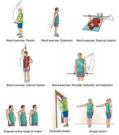 EXERCISES SHOULDER FROZEN
