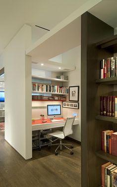 リビングもしくは寝室の一角にこれくらいのスペースでいいわ、おれの書斎。