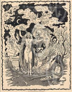 another art interpretation of danse macabre. so cool. i wish i could cover my body in this stuff