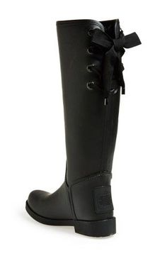 COACH 'Tristee' Waterproof Rain Boot, Would these work in your fall wardrobe? http://keep.com/coach-tristee-waterproof-rain-boot-by-brianne_cain/k/23ooGhgBL2/