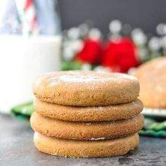 Old-Fashioned Williamsburg Gingerbread Cookies - The Seasoned Mom