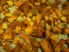 Easy Croutons w/ Udi's gluten-free end pieces! | Udi's® Gluten Free Bread