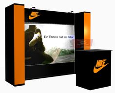 Pop Up Booth Displays with Superb Fit and Finish.