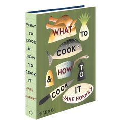 [REGALADO. GRACIAS!] Libro What to Cook and How to Cook it en West Elm  $20000 (US$39.95)