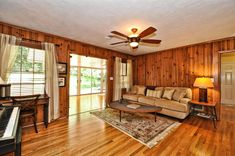 knotty pine family room - Google Search