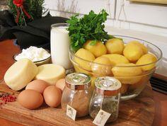 Cartofi gratinaţi la cuptor – Cook like a man! Romanian Food, Eggs, Sweets, Cheese, Cooking, Breakfast, Happy, Diet, Food