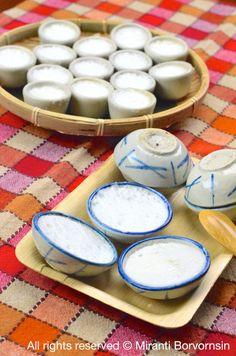 Kanom Tauy, Thai Coconut Rice Custard
