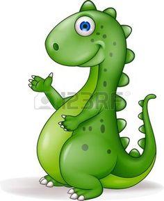Dinozor karikatür photo