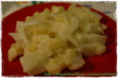Finocchi e patate in besciamella veloce