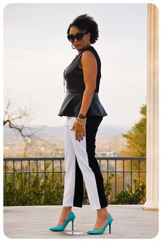 Review: McCall's 6707 | Two-toned Trousers! | Erica B.'s - D.I.Y. Style! Can use the BS 2006-05-112 for trousers