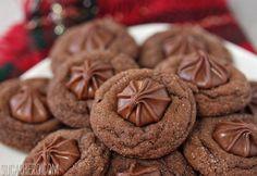 Soft Chocolate Gingerbread Cookies | SugarHero.com