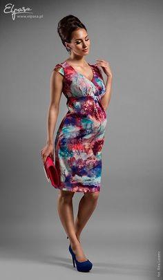 Sukienka ciążowa Megan # S - odzież ciążowa Piękna Mama