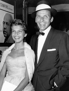 Frank Sinatra and daughter Nancy