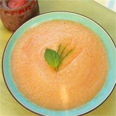 Chilled Cantaloupe Soup - Allrecipes.com