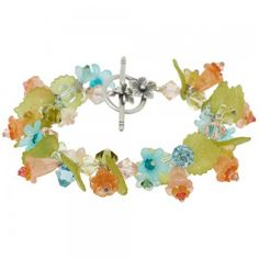 Fun Summer Jewelry #Trends - FLORAL - no blogue Fusion Beads- Junho 2013