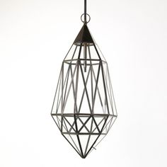 Diamond Cage Lamp