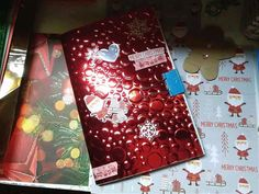 Christmas Journal, Journal Covers, Gift Wrapping, Gifts, Gift Wrapping Paper, Magazine Covers, Presents, Wrapping Gifts, Favors