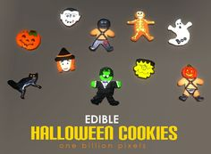 Spring4Sims » Edible Halloween Cookies by One Billion Pixels Sims 3