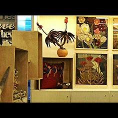 Art Project 2014 - V&A Waterfront shop (Cape Town) V&a Waterfront, Textile Sculpture, Tapestries, Cape Town, Art Projects, Sculptures, Wire, Textiles, Shop