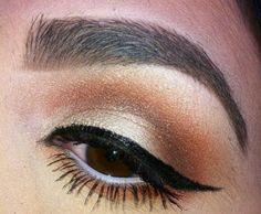 Pumpkin Smokey Eye