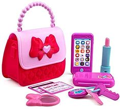 Playkidiz Princess My First Purse Set - 8 Pieces Kids Play Purse and Accessories, Pretend Play Toy Set with Cool Girl Accessories, Includes Phone and Bag with Lights and Sound. Disney Princess Carriage, Disney Princess Toys, Barbie Doll Accessories, Girls Accessories, Toys For Girls, Kids Toys, Gifts For Family, Gifts For Kids, Baby Doll Diaper Bag