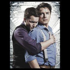 Ianto and Jack Torchwood
