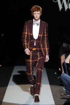 Look 016 at Vivienne Westwood #SS15 MAN