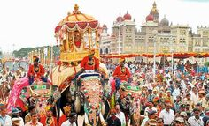 Mysore Dasara is the state festival of Karnataka and is celebrated on a grand scale.