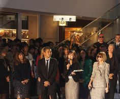"""I've attended an exciting event, """"Fashion's Night Out"""", organized by Vogue."""