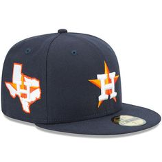 finest selection 78f56 99b58 Men s New Era Navy Houston Astros State Clip Snapback 9FIFTY Hat