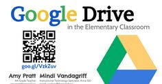 G o o g l e Drive in the Elementary Classroom Mindi Vandagriff Instructional Technology Specialist, Anna ISD mindi. vandagriff@ annaisd. org@ MindiVandagriff goo. gl/ VzkZuv Amy Pratt 4th Grade Teacher amy. pratt@ annaisd. org@ apratt5 Google Drive for staff Google Drive for students Google Drive...