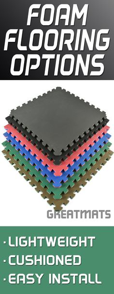 Greatmats offers one of the largest selections of foam flooring products available.