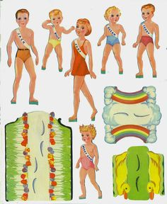 Beauty Contest 1941 Lowes #1026 *** Paper dolls for Pinterest friends, 1500 free paper dolls at Arielle Gabriel's International Paper Doll Society, writer The Goddess of Mercy & The Dept of Miracles, publisher QuanYin5
