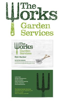 garden design business cards google search
