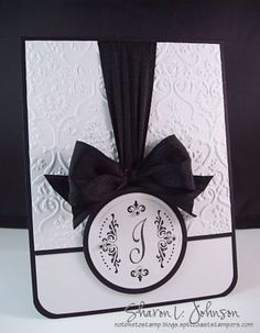 cute for a shower or wedding card Card (with directions on how to make