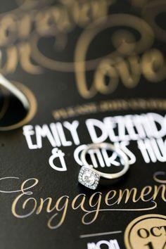 Stylized Engagement Gatsby Dinner: Durango, CO