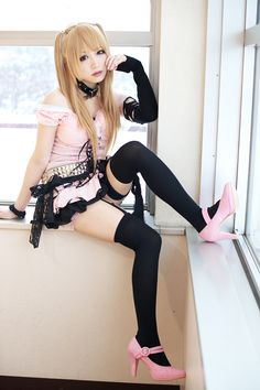 cosplayer - Iori : Iori is cosplaying as Misa Amane from Death Note