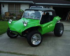 Dune Buggy. I will own one of these.. Beach trip worthy(: