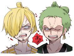 Sanji and Zoro reunited in Wano Kuni One Piece 944 One Piece Comic, One Piece Fanart, One Piece Anime, Art It, Sanji One Piece, 0ne Piece, Anime One, Roronoa Zoro, Yandere