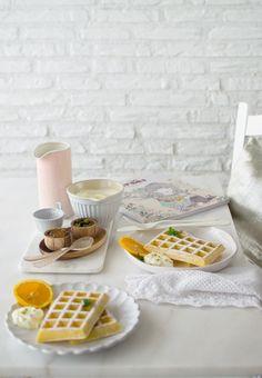Si quieres disfrutar en casa de unos auténticos gofres... aquí tienes la receta! Rápida, fácil y deliciosa. Entra y disfrútala!