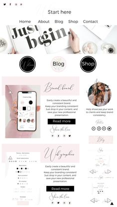 Five branding board templates for all your branding needs! Perfect to present your web design, logo design, or graphic design in an informative and creative way.  +  100 web graphics.
