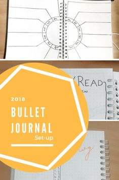 New year. New bullet journal. Click to see my bullet journal set-up for 2018!