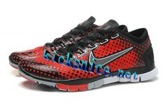 $53.92 Mens #Nike #Free Tr Fit Red Black Grey Training Shoes   #Black  #Womens #Sneakers