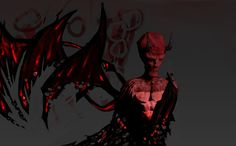 Three-Winged Devil by Someone9999.deviantart.com on @DeviantArt