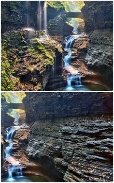 This Km Gorge Trail Will Take You Past 19 Waterfalls Near Ontario Watkins Glen State Park, Ontario Travel, Visit Canada, Travel Oklahoma, Places Of Interest, New York Travel, Death Valley, Canada Travel, Thailand Travel