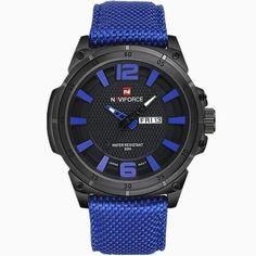b39a6508264 Pánské hodinky NAVIFORCE modrý cifeník – hodinky Na tento produkt se  vztahuje nejen zajímavá sleva